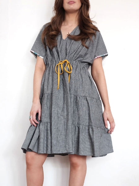 Doucette | lana railroad denim dress