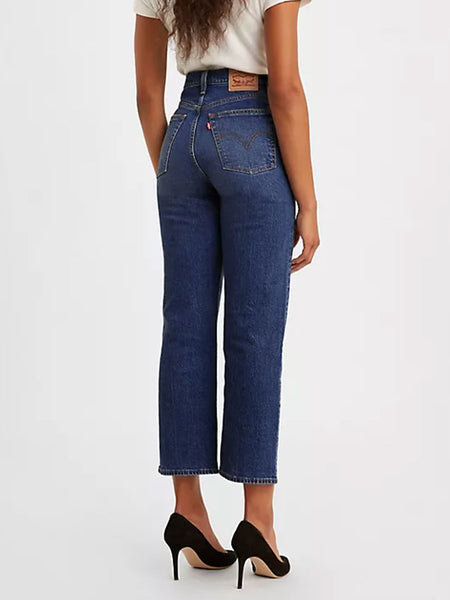 Levi's | ribcage straight ankle standing steady