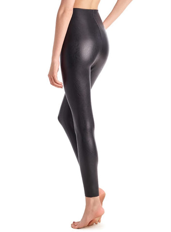 commando | perfect control faux leather legging black