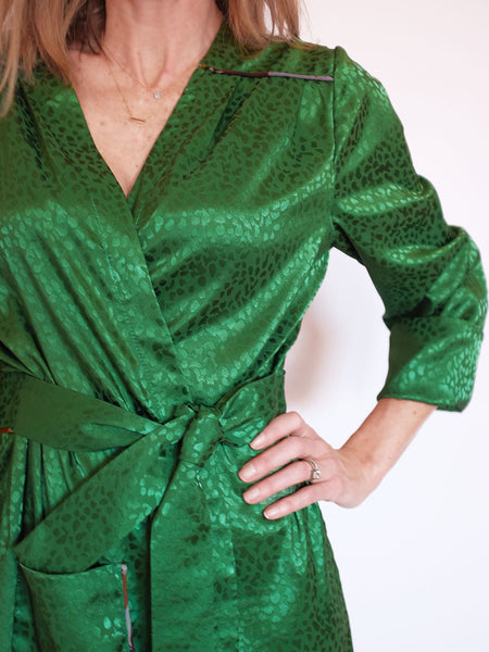 Doucette | crawford silk robe