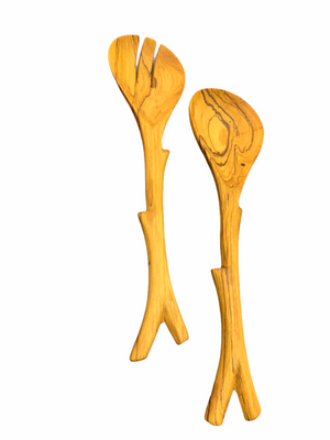 Olive Wood salad Set