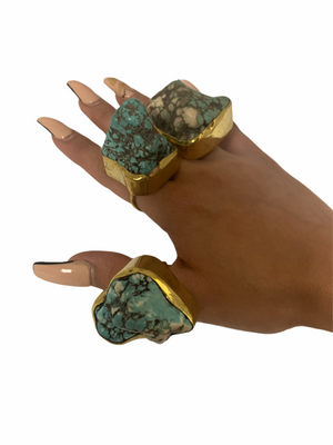 Turquoise Adjustable Fashion Ring Collection