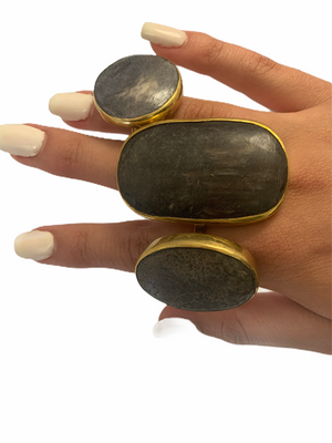 Horn Statement Fashion Rings
