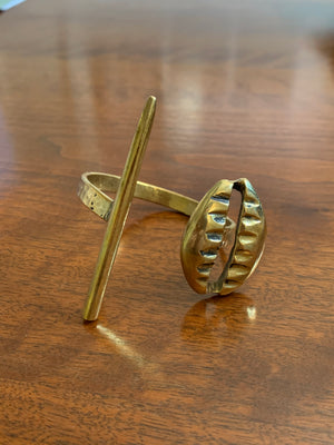 Soldered Brass Double Cuff