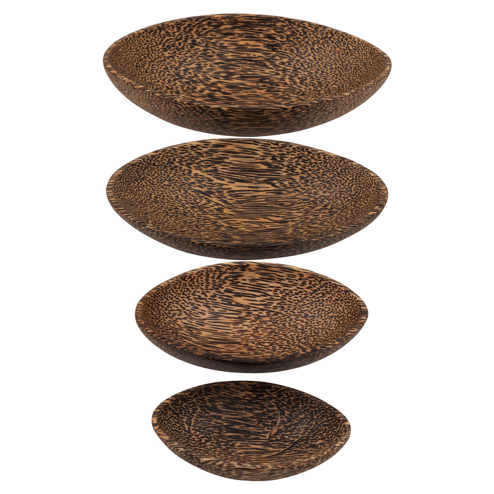 Oval Coco Wood Bowl