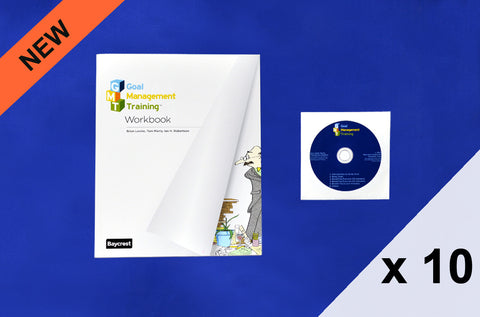Goal Management Training™ Set of 10 Participant Workbooks