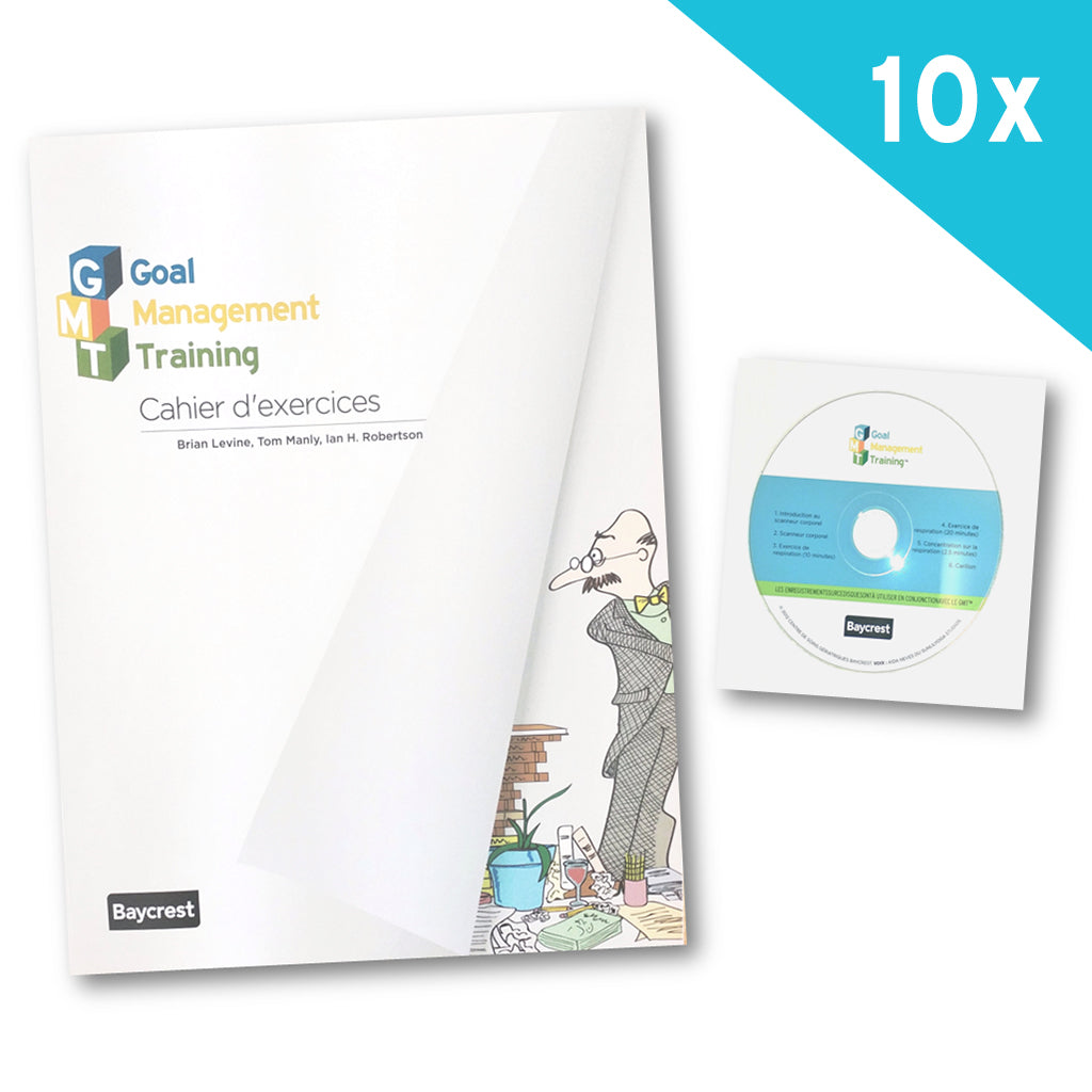 Goal Management Training® Set of 10 Participant Workbooks (FRENCH)