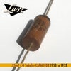 BULK 1950-1952 .05mF Tubular: Wax Impregnated Paper & Foil .05mF Capacitor