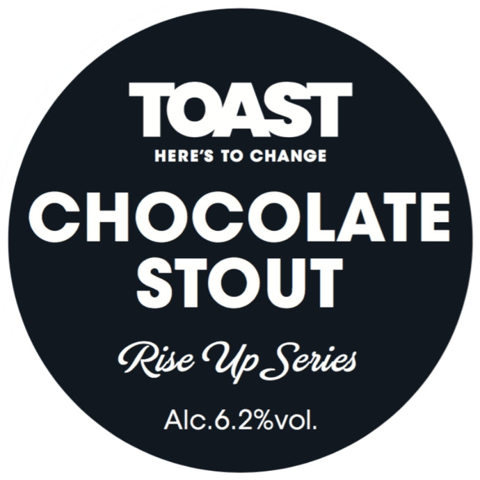 Rise up Series - Chocolate Stout (6.2%) - Available from 27th November
