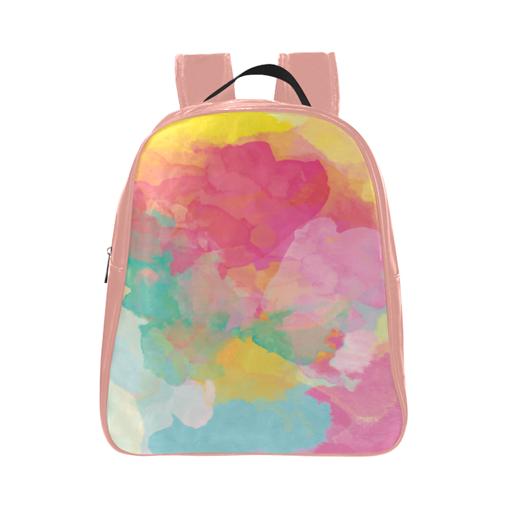Pastel K School Bag - TT-Shoes-N-ThingZ