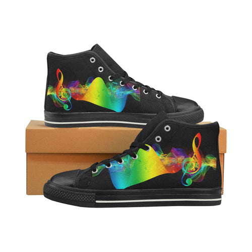Music-1439137 Aquila High Top Canvas - TT-Shoes-N-ThingZ