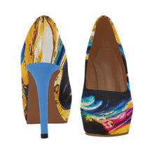 Load image into Gallery viewer, Yellow- Women's High Heels - TT-Shoes-N-ThingZ