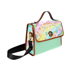 Pastel D Waterproof Canvas Bag - TT-Shoes-N-ThingZ
