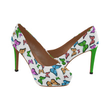Load image into Gallery viewer, butterflies-2720419 Women's High Heels (Model 044) - TT-Shoes-N-ThingZ
