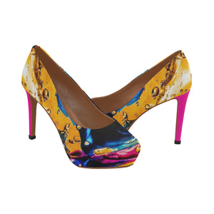 yellow-1343606 Women's High Heels (Model 044) - TT-Shoes-N-ThingZ