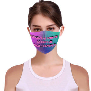 Facemask 24 Cotton Fabric Dust Cover With Adjustable Strip(ModelM04)(30 PCS Filters Included) - TT-Shoes-N-ThingZ