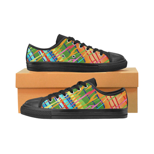 Abstract  Canvas Women's Shoes - TT-Shoes-N-ThingZ