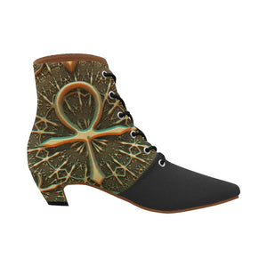 Ankh-1247148 Ankle High Boots - TT-Shoes-N-ThingZ