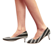 Load image into Gallery viewer, zebra-2 Pointy Toe Low Kitten Heel Pumps - TT-Shoes-N-ThingZ