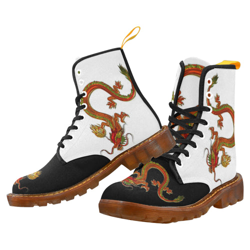 Dragon 4 Men's Lace Up Canvas Boots - TT-Shoes-N-ThingZ