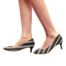 Load image into Gallery viewer, zebra-1 Pointy Toe Low Kitten Heel Pumps - TT-Shoes-N-ThingZ