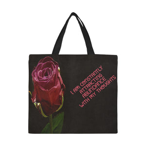 Positive Affirmation 10 All Over Print Canvas Tote Bag(Model1699)(Large) - TT-Shoes-N-ThingZ
