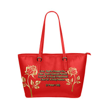 Load image into Gallery viewer, Positive Quotes - Leather Tote Bag - TT-Shoes-N-ThingZ