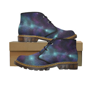 Space1 Women's Canvas Chukka Boots (Model 2402-1) - TT-Shoes-N-ThingZ