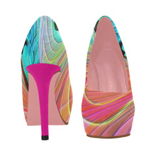 Load image into Gallery viewer, Butterflies 2 Women's High Heels (Model 044) - TT-Shoes-N-ThingZ