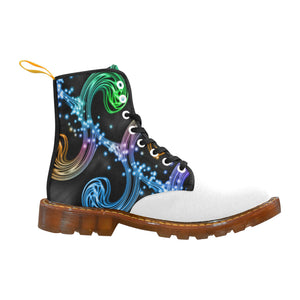 Rainbow-6 Men's Lace Up Canvas Boots - TT-Shoes-N-ThingZ