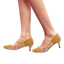 Load image into Gallery viewer, rose-Pointy Toe Low Kitten Heel Pumps - TT-Shoes-N-ThingZ