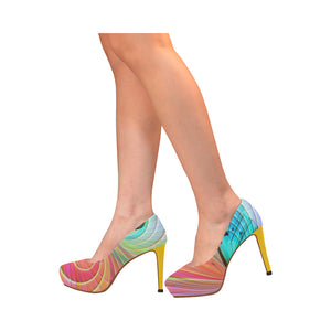Butterflies 1 Women's High Heels (Model 044) - TT-Shoes-N-ThingZ