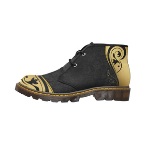 Gold 1 Women's Canvas Chukka Boots (Model 2402-1) - TT-Shoes-N-ThingZ