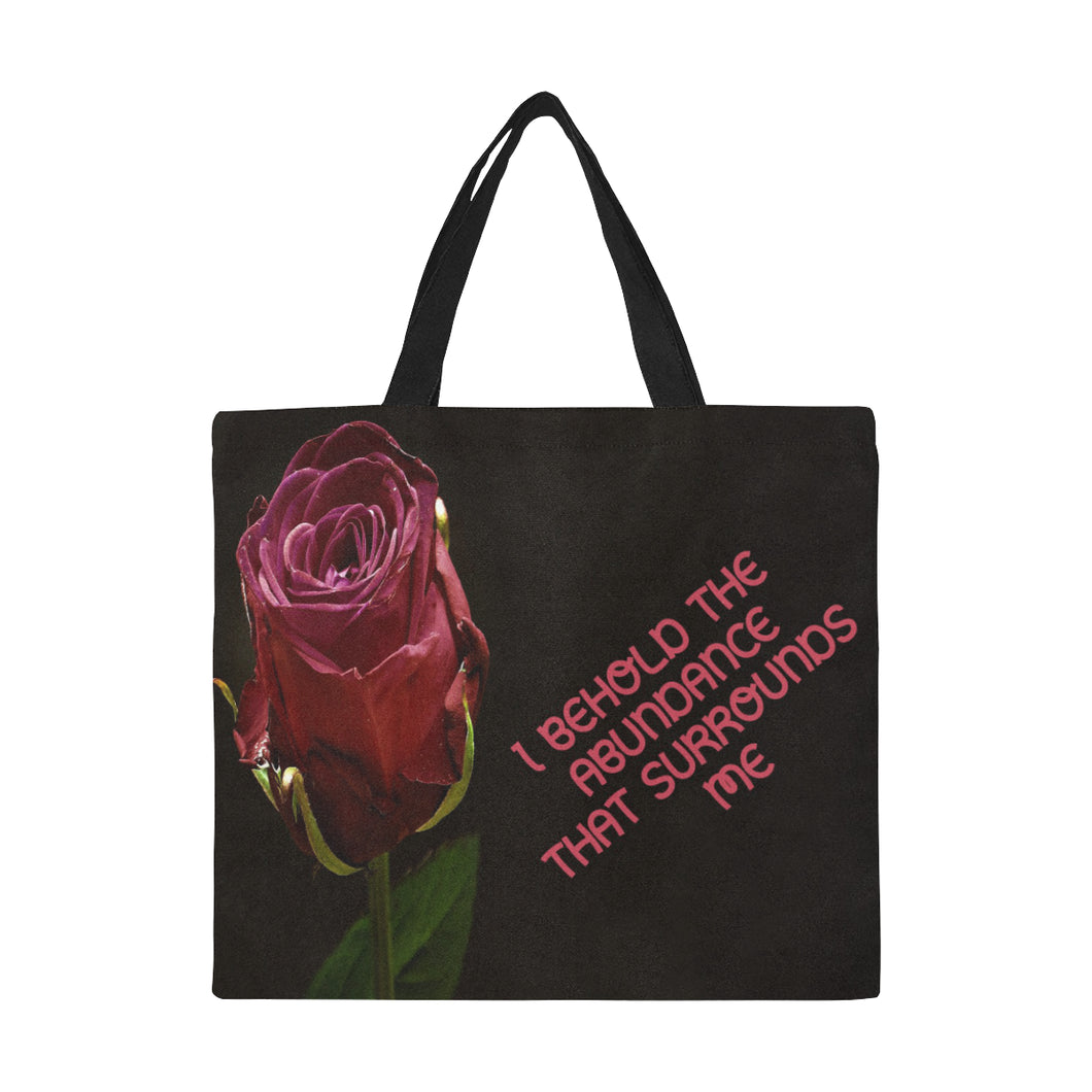 Positive Affirmation 20 , Canvas Tote Bag(Model1699)(Large) - TT-Shoes-N-ThingZ