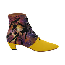 Load image into Gallery viewer, Gemini -Women's Chic Low Heel Lace Up Ankle High Boots - TT-Shoes-N-ThingZ