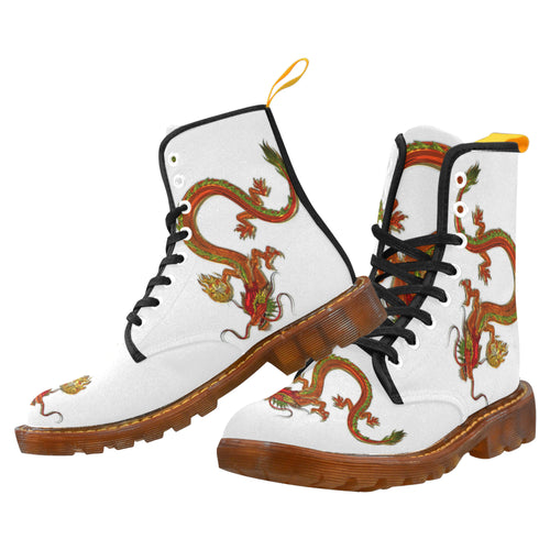 Dragon 3 Men's Lace Up Canvas Boots - TT-Shoes-N-ThingZ