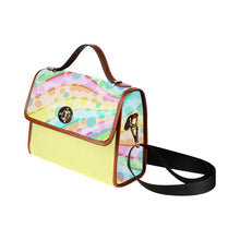 Load image into Gallery viewer, Pastel F Waterproof Canvas Bag - TT-Shoes-N-ThingZ