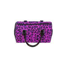 Load image into Gallery viewer, Leopard Purple Barrel Type Handbag - TT-Shoes-N-ThingZ