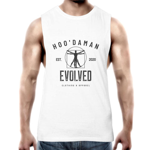 Hoo'DaMan Evolved Muscle Tee