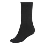 Bamboo Body Thick Black Socks