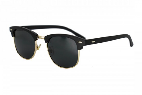 DON DRAPER - GOLD RETRO SUNGLASSES