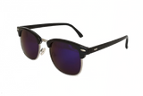DON DRAPER - SILVER BLUE RETRO SUNGLASSES