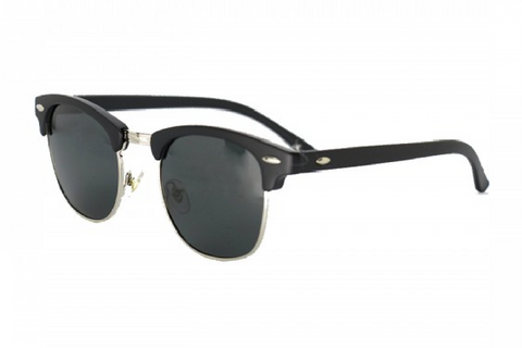 DON DRAPER - SILVER RETRO POLARISED SUNGLASSES
