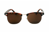 DON DRAPER - TORTOISE RETRO POLARISED SUNGLASSES