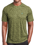 Hoo'DaMan Digi Camo Performance Tee