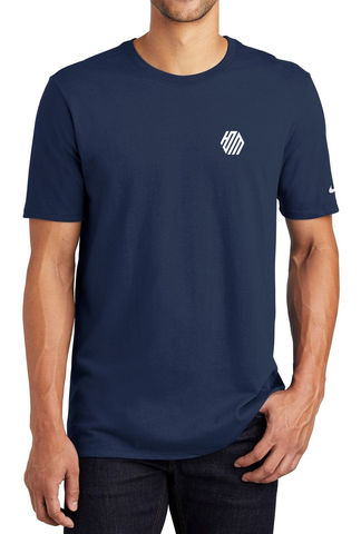 Hoo'DaMan/Nike Core Cotton Tee - College Navy