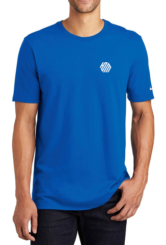 Hoo'DaMan/Nike Core Cotton Tee - Game Royal