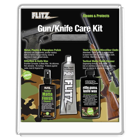 Flitz Knife & Gun Care Kit [KG 41501] - Youth Outdoor Adventure