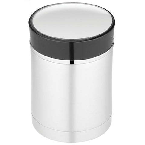 Thermos Sipp Vacuum Insulated Food Jar - 16 oz. - Stainless Steel/Black [NS340BK004] - Youth Outdoor Adventure