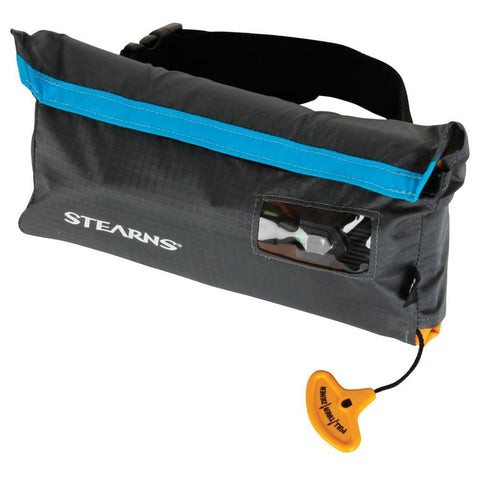 Stearns 0275 33-Gram Manual Inflatable Belt Pack - Gray/Blue [2000019376] - Youth Outdoor Adventure